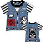 Star Wars Darth Vader Punk Vader Blue Toddler T-Shirt $19.49 USD
