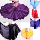 Belly Dance Costumes Long Skirt Full Circle Swing Skirt Dress Plus size S M L XL