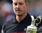 HENRIK STENSON 08 HOLDING THE CLARET JUG (GOLF)  PHOTO PRINTS AND MUGS