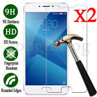 2Pcs 9H+ Premium Tempered Glass Film Screen Protector Cover for MeiZu Cell Phone