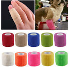 Hot Pet Puppy Dog Cat Horse Vet Wound Cohesive Bandage Self Adherent Wrap Tape