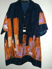 NWT sz XL NEW YORK CITY SKYLINE w TRADE TOWERS HAWAIIAN  SHIRT by JAWS