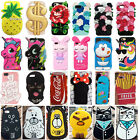 3D Cartoon Disney Minnie Silicone Rubber Gel Soft Case Cover Skin For iPhone 6/7