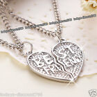 best christmas gifts for my wife - BEST FRIEND Necklace Silver Love Heart Xmas Gift For Her Wife Mum Daughter Women