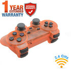 100% NEW Wireless Twin Shock Controller For PS2 PS1 2.4G Game Joystick Joypad