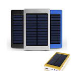 80000mAh Dual USB Solar External Power Bank Battery Charger Pack For Cell Phone