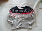 NWT GYMBOREE HOLIDAY SHOP SNOWMAN SNOW CHRISTMAS FAIR ISLE SWEATER LAYETTE