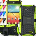 Shockproof Heavy Duty Rugged Armor Protector Kick Stand Case Cover USA Seller