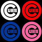 "5"" 10"" 15"" or 20"" Chicago CUBS Baseball Car Window Wall Decal Sticker"