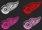 "HUGE 12"" to 30"" Detroit Red Wings Car Truck Window Decal 9 COLORS sticker hockey"