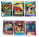 50+ TEMPORARY TATTOOS FOR BOYS AND GIRLS PARTY BAG FILLERS LUCKY DIPS