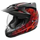 ICON Variant COTTONMOUTH Motorcycle Helmet Red