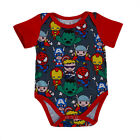 super heroes babys - Super Heroes Newborn Baby Boy Romper Bodysuit Jumpsuit Cartoon Clothes Outfits