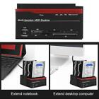 External Triple SATA IDE HDD Docking Station 2.5''/3.5'' Hard Drive Card Reader