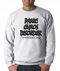 Oneliner crewneck SWEATSHIRT Panic Chaos Disorder My work Here Is Done