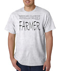 Bayside Made USA T-shirt My Parents Said Could Be Anything Became A Farmer