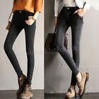 New Fashion Women Casual Skinny Slim Fit Denim Ninth Jeans Pants Pencil Trousers