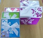 FOLDED GIFT BOXES MEDIUM+  LEAF DESIGN  3 COLOURS TO CHOOSE FROM BIRTHDAYS