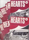 Heart of Midlothian Home programmes 1976-1980
