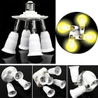 3/4/5-in-1 Adjustable E27 Base Light Lamp Bulb Adapter Holder Socket Splitter