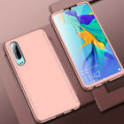 For Huawei P30 Pro P20 Lite Mate 20 P10 P9 360° Full Case Cover + Tempered Glass