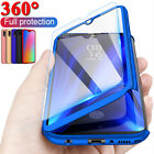 For Huawei P30 Pro P20 Mate 20 Lite P10 P9 360° Full Case Cover + Tempered Glass