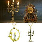 Beauty and the beast Disney movie inspired candle holder Lumiére necklace