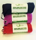 """Microfiber Golf Buddies Golf Towel 16""""X16"""" with Carabiner Clip - 3 for $6.49"""