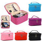 Travel Cosmetic Makeup Case Pouch Toiletry Zipper Organizer Storage Bag