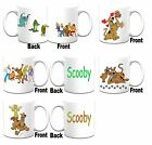 """SCOOBY DOO "" Inspired Printed Boxed White Mug ~ Can Be Personalised"