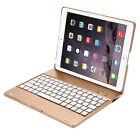 Folio Stand Bluetooth Keyboard Case Smart Flip Cover&Power Bank For iPad 4 3 2