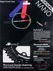5G NANO Doval Chainring  BCD110/130 for 4~5arm (buy 3+ =>Free EMS ship)