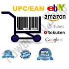 100-300 UPC EAN Numbers Bar Codes for any Marketplace Worldwide BUY 2 GET 1 FREE