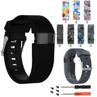 Newest Silicone Wristband Bracelet Band Strap for Fitbit Charge HR Tracker #GY