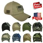 USA American US Flag Patch Cap Mesh Trucker Tactical Operator Army Camouflage