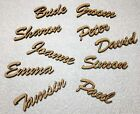 Wedding Place Name, Place Setting, Table names, laser cut names