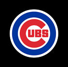 "5"" 10"" 15"" or 20"" Chicago CUBS Baseball Car Window Wall Decal Sticker 3 COLORS"