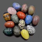 Natural Gemstone Egg Crystal Healing Sphere Massage Rock 20mm 30mm 35mm Finger