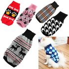 Dog Cat Knit Sweater Small Pet Puppy Coat Jacket Clothes Warm Apparel Costumes
