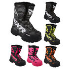2017 FXR Mens X-Cross Snowmobile Snow Winter Boots w/ Fixed Fur Lining