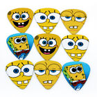 100pcs American Cartoon Face Acoustic Electric Guitar Picks Mix Plectrums