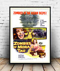 Zombies of Mora Tau : Vintage advertising , Wall art , poster, Reproduction.