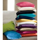 Super Soft Pillow Cover 100% Cotton 2 PC Pillowcases King & All Colors  image