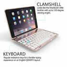 7 Colors Backlight Bluetooth Keyboard Smart Case Stand Cover For iPad Mini 4 2 3