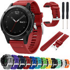 22mm Silicone Quick Release Wrist Band & Tool Fits Garmin Fenix 5/Forerunner 935