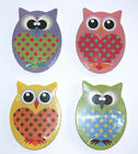CUTE COLOURFUL OWL SHAPED EMERY BOARDS - PACK OF TWO