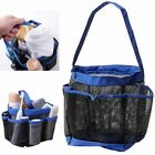 Shower Mesh Basket Bag 8 Pocket Quick Dry Breathable Caddy Tote Bathroom Dorm