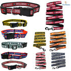 NCAA Fan Pet Gear Game Football Dog Collar or Dog Leash for Dogs PICK YOUR TEAM