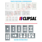 CLIPSAL CLASSIC C2000 Light Switch Powerpoint GPO Power Point White 1 2 3 4 5 6