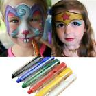 tiger face paint easy - Kid Face Paint Kit 6 or 12 Pcs Paint Sticks Safe Non Toxic Body Easy Painting